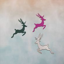 Carbon Steel Christmas deer Cutting Die Embossing Stencil Template Mold DIY Paper Art Handcraft Scrapbook Bookmark Card Decor carbon steel christmas glove cutting die for diy