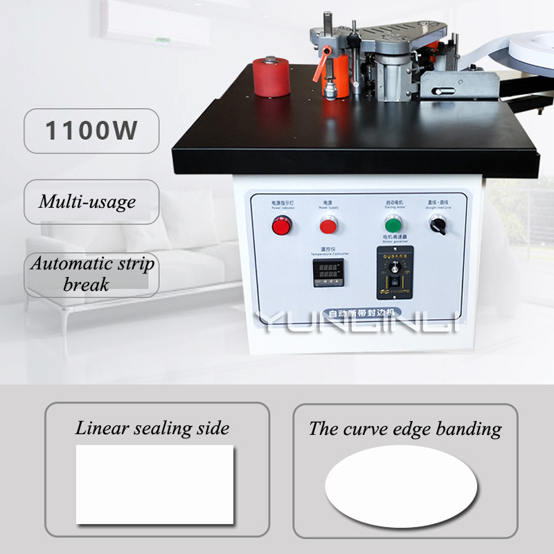 Edge Banding Machine Manual Woodworking Household Portable Double-sided Adhesive Small Paint-free Automatic Tape TS50