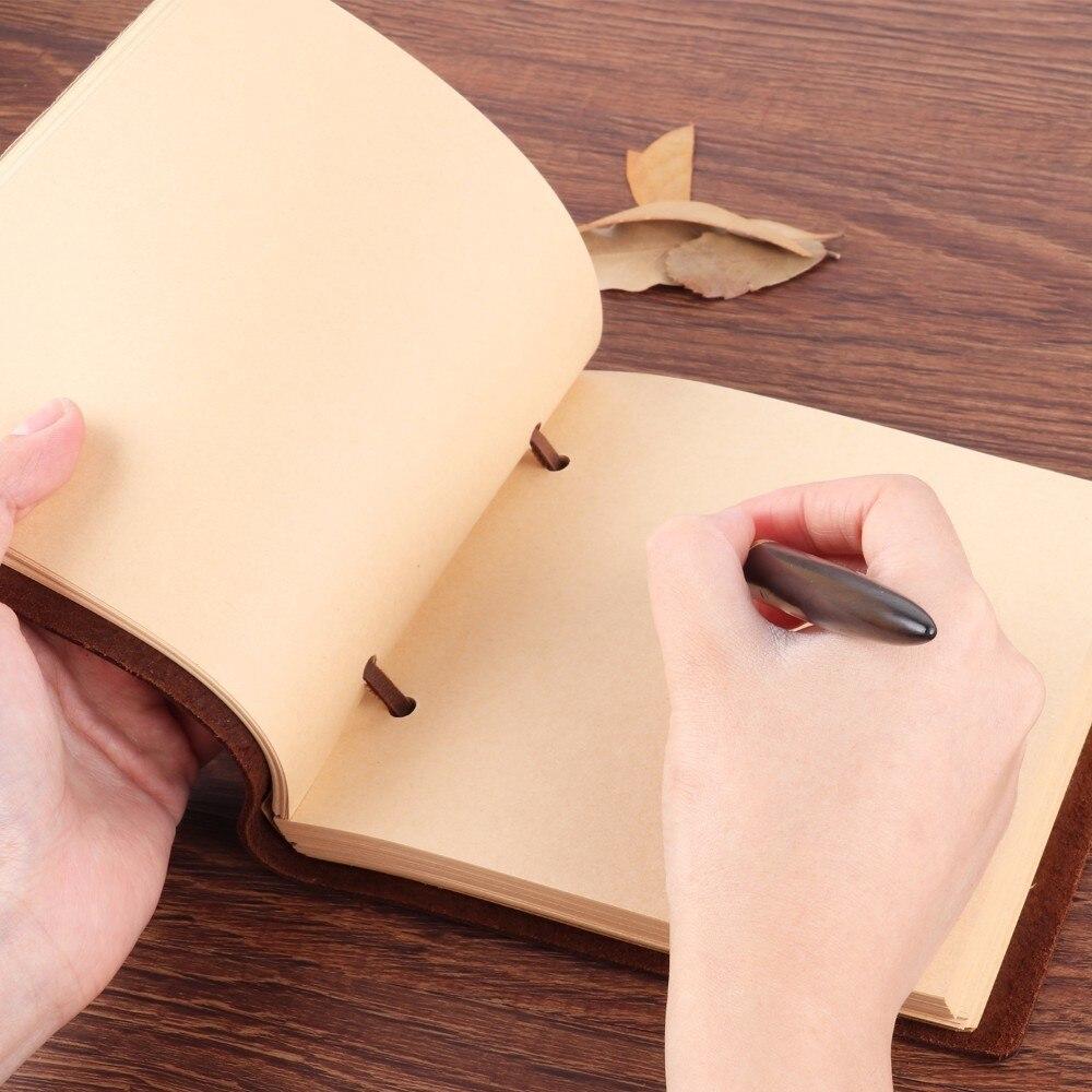 Χειροποίητο Ρουστίκ Γνήσιο Δερμάτινο - Σημειωματάρια - Φωτογραφία 3