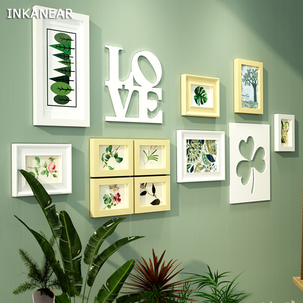 Photo Frames Modern Fashion Leaf Pastoral freshness Office/Store ...