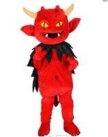 Red Devil Маскоты костюм персонажа из мультфильма косплей талисман Заказные изделия на заказ (S. м. l. xl. XXL) Бесплатная доставка