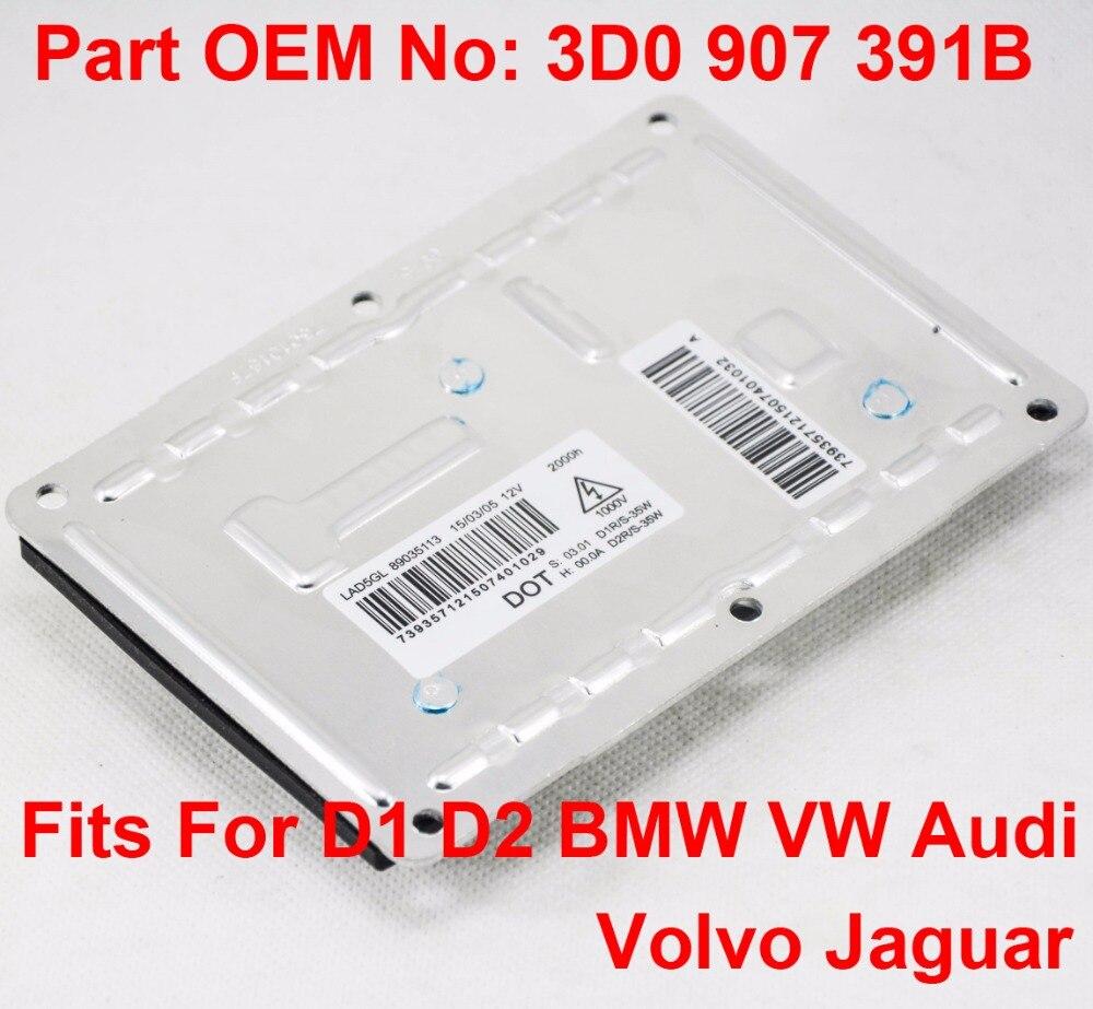 2x 12V 35W D1S D1R D2S D2R OEM HID Xenon Headlight Ballast Control Unit Number 3D0 907 391B Fits For BMW VW Audi Volvo Jaguar цена
