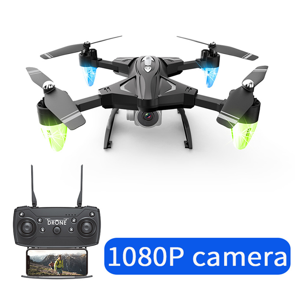 Drone F69 remote control wifi FPV,480P/10800P camera 6 Axis aerial toy 2.4G 4CH foldable aircraft photography pictures video APK-in RC Airplanes from Toys & Hobbies
