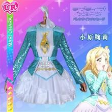 Lovelive Sunshine Aqours New Ohara Mari Dress Christmas Eve Sacred Snow Collaboration Awaken the power All Member