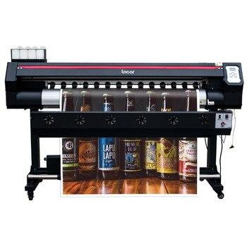 1.6m printing machine digital inkjet printing machine single XP600 print head  eco solvent printer free and fast shipping