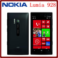 Abierto Original Nokia Lumia 928 4.5 ''8MP Dual core Windows Mobile 32 GB ROM 1 GB RAM Pantalla Táctil en stock Freeshipping