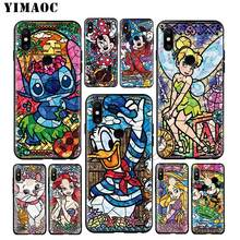 YIMAOC Minnie Mickey Stitch Princess Soft Case for Xiaomi Mi 9 9T 8 SE 6 MAX 3 A1 A2 Lite MIA1 MIA2 Mi A3 CC9E CC9 Pro(China)