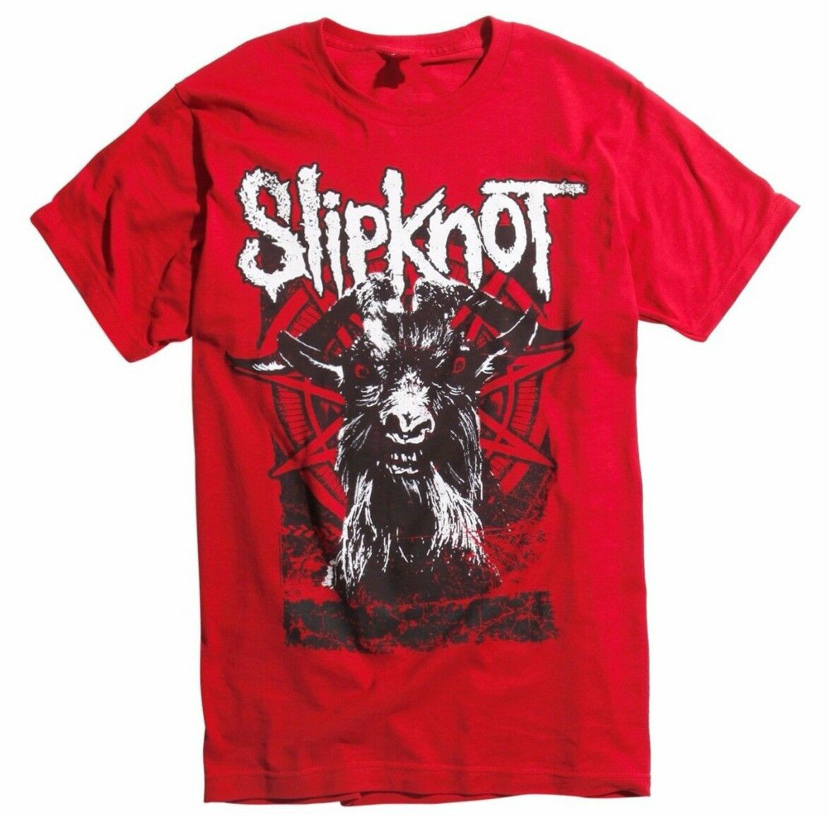 <font><b>Slipknot</b></font> <font><b>IOWA</b></font> GOAT T-Shirt NEW Authentic & Licensed Front & Back Design image