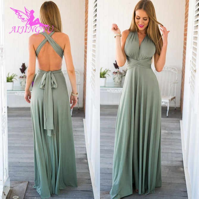 AIJINGYU Evening Dresses Long Party Gown 2018 Sexy Women Elegant Formal  Special Occasion Dress Fashion Gowns f8323779b729