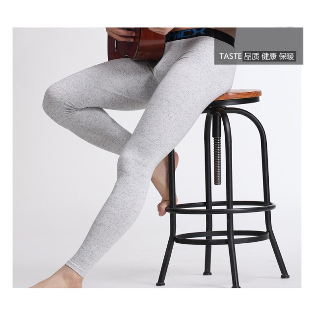 New 2018 Men's basic Cotton Thermal Underwear Long Johns Underpants Leggings Tights – 6 Colors – Free Shipping