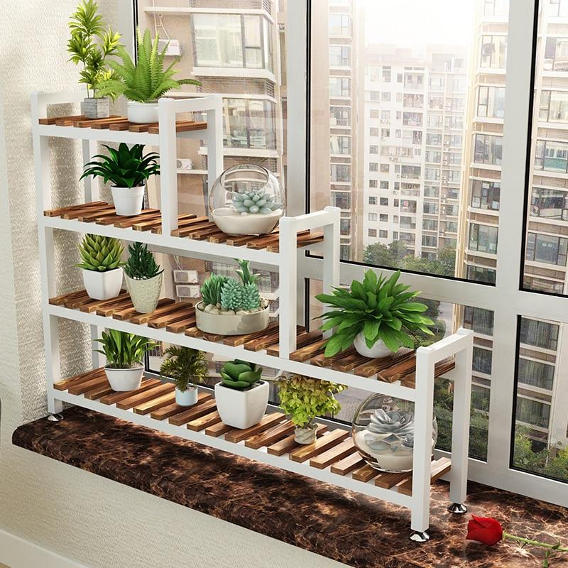 Balcony Flower Shelf Indoor Floating