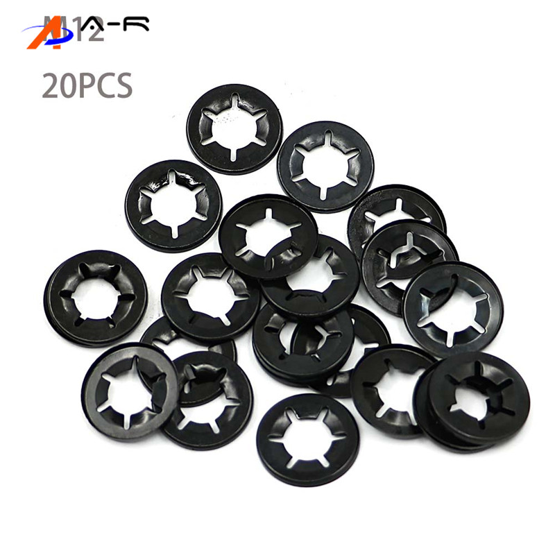 Starlock Washer Grab Fastener Clips   5X 3,4,5,6,8,10,12/&16mm40PCE
