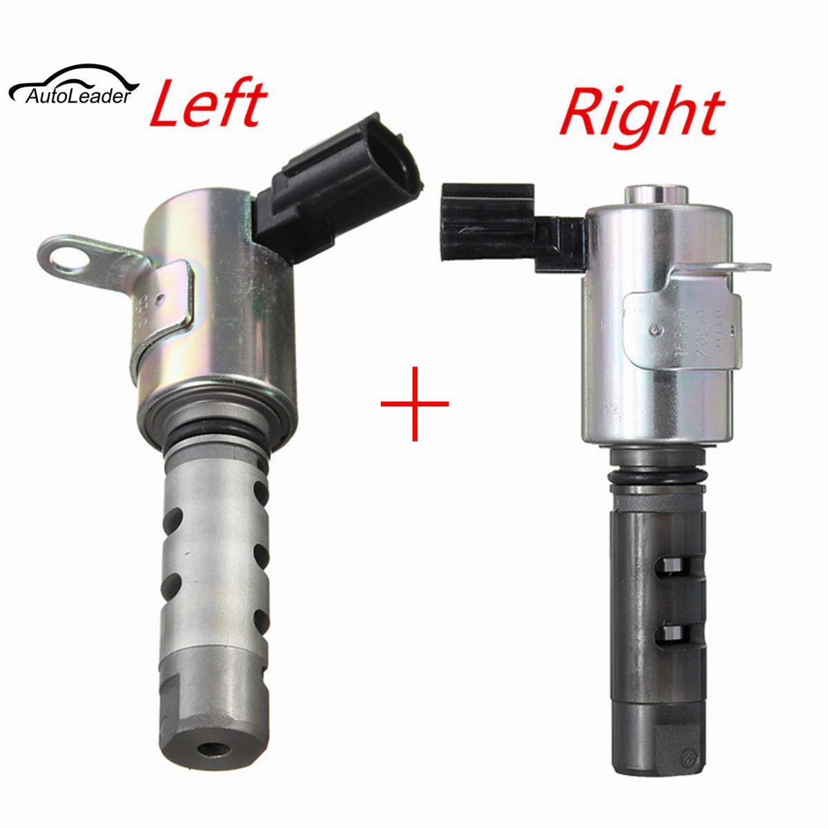 2x Left & Right VVT Variable Timing Solenoid Valve 153400A010 153300A010 For Toyota Avalon Camry Highlander Sienna Solara /Lexus