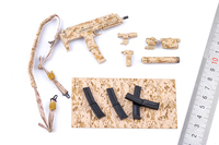 1/6 scale soldier weapon model ES 26009R SMU American Seals Special Forces MP7 suit for 12'' soldier action figure