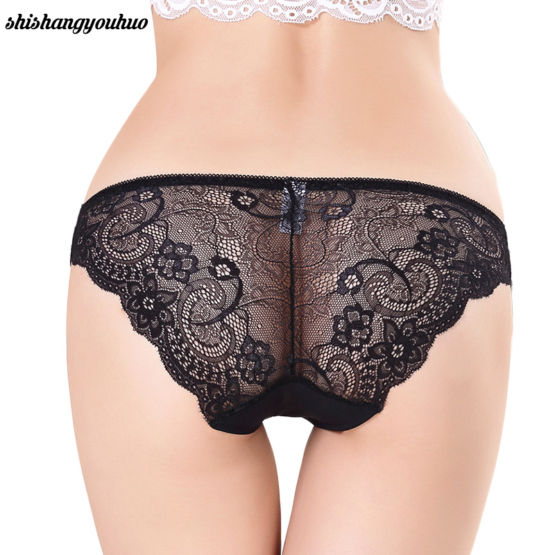 S-2XL!Hot sale! women's sexy lace   panties   seamless cotton breathable   panty   Hollow briefs Plus Size girl underwear Dropshipping