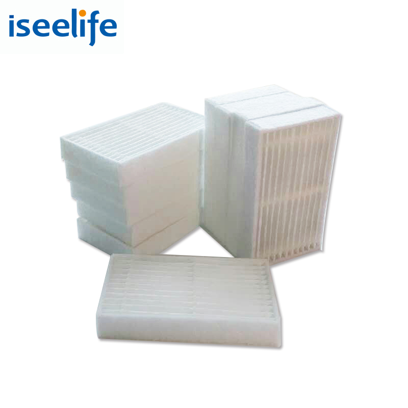 HEPA Filter x 10pc for ISEELIFE PRO1 PRO1S PRO2S Robot Vacuum Cleaner Robotic Vacuum Cleaner for Home Robot Vacuum Cleaner parts