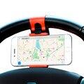 Универсальный Рулевого Колеса Автомобиля Телефон Гнездо Держатель Навигации Чехол Для iPhone SE 4 5S 6 S Plus Для Samsung Galaxy S7 S5 S6 edge