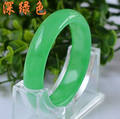 Free Shipping New Infinity Natural Jade Bangle Bigger Burma Jade Bangle Indian Bracelets & Bangles for Women Men Jewelry