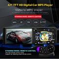 NOVO 4.1 polegada TFT HD Tela rádio Do Carro Mp5 Jogador do carro do Bluetooth Apoio Câmera de Visão Traseira de áudio SD/USB Carro MP4 MP5 1 din traço