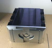 전체 알루미늄 섀시 160.5 패스 패널 파워 앰프 인클로저 diy 케이스
