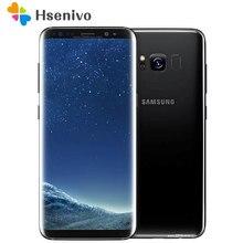 Samsung S8 Renoviert-Original Samsung Galaxy S8 G950U SM-G950F 4G LTE 64GB 5,8 Zoll Einzelne Sim 12MP 3000mAh S-serie telefon