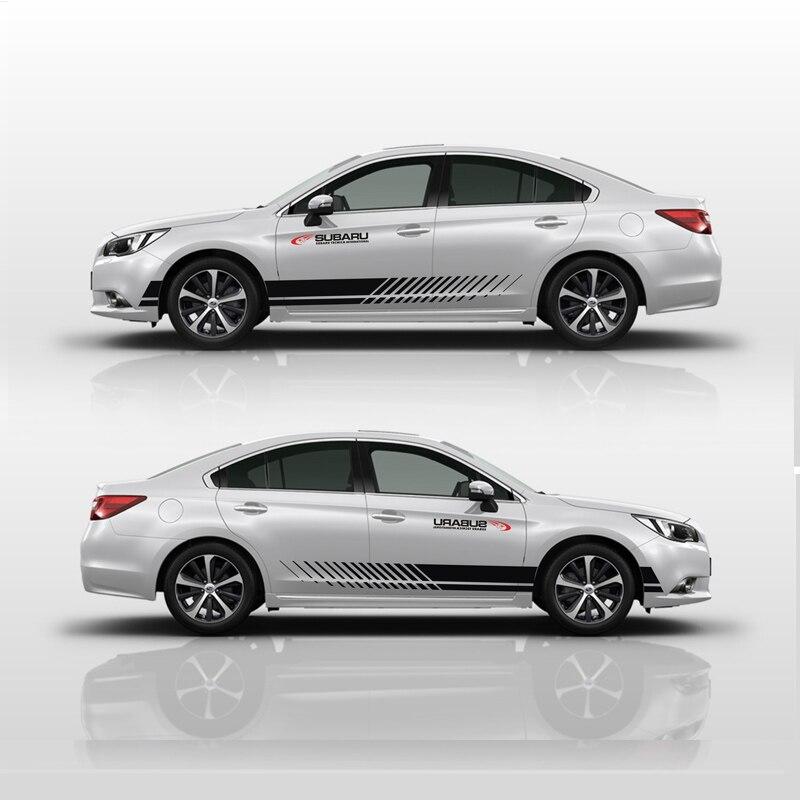 TAIYAO car styling sport autocollant de voiture Pour Subaru Legacy Vue SPORT Mark Levinson voiture accessoires et stickers auto autocollant