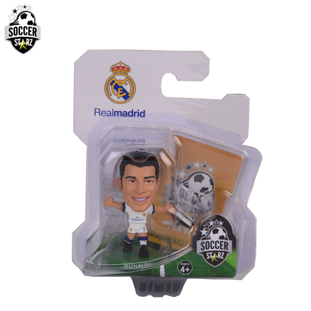 Soccerstarz Hand Painted 5cm Cristiano Ronaldo Home Kit 2017 Version Figures Fashion Football Star Doll Value For Collection