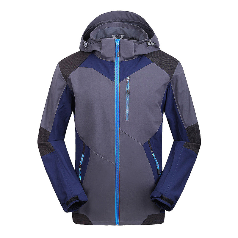 Spring Autumn Soft Shell Fleece Inner Outdoor Hiking Coat Water Resistant Softshell Jacket Men Windstopper Camping Veste Homme hot sale windstopper water resistant coat 2in1 hiking winter jacket women outdoor veste breathable camping chaquetas mujer
