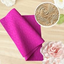 New Fondant Mould Spiral Pattern Lace Mat Impression Mats Silicone Lace Mat Cake Lace Mold Silicone Sugar Mat Decorative H857