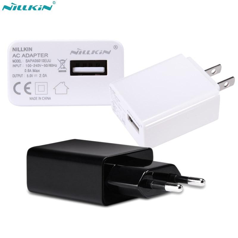 a2ac1f4173c Cheap Nillkin 5 V 2A cargador rápido USB cargador de pared de viaje adaptador  cargador portátil