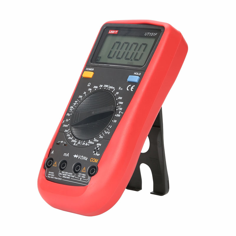 Digital Multimeter UNI-T UT151F   Professional Electrical Handheld Tester  LCR Meter Ammeter Multitester uni t ut139c true rms digital multimeter handheld electrical lcr voltage current meter tester multimetro ammeter multitester
