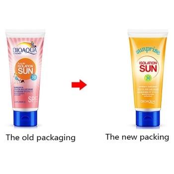 Body Facial Sunscreen Creams sun lotion tanning oil SPF 30 Isolation UV Sunblock Body Sunscreen Concealer waterproof uva uvb