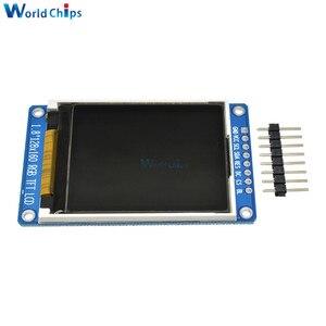 Image 3 - Полноцветный ЖК дисплей 1,8 дюйма 128x160 SPI, полноцветный TFT Модуль ST7735S 3,3 В, сменный блок питания OLED для Arduino, Комплект «сделай сам»
