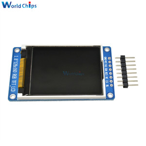 "Image 3 - 1.8"" inch Full Color 128x160 SPI Full Color TFT LCD Display Module ST7735S 3.3V Replace OLED Power Supply for Arduino DIY KIT"