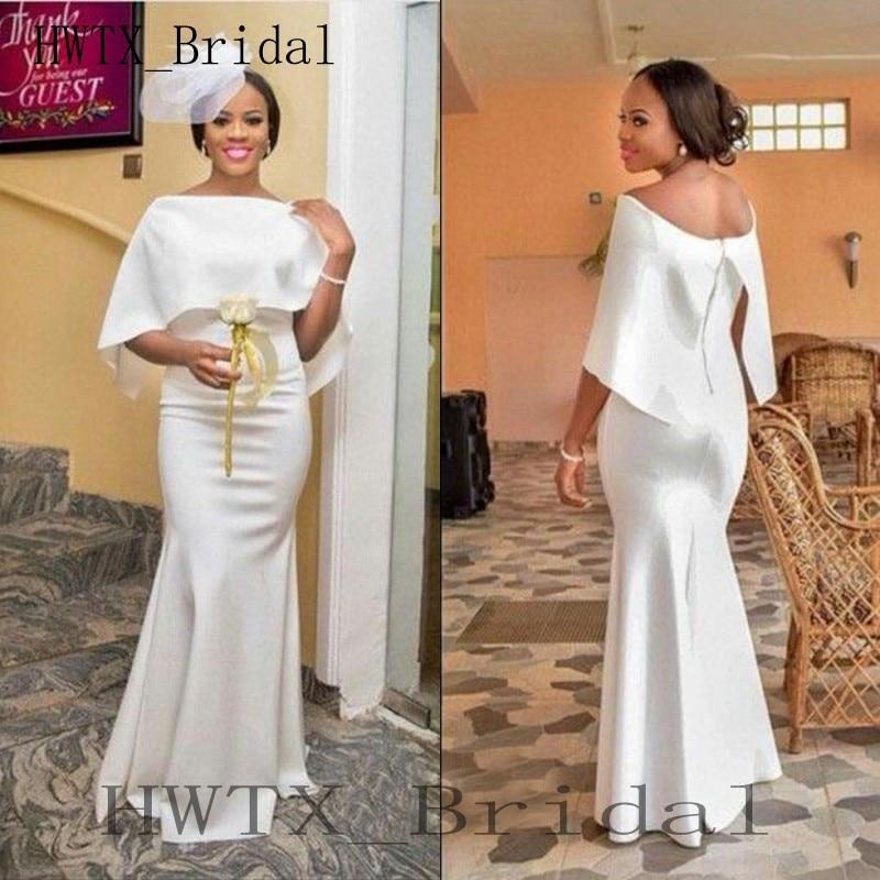a85714e78e3 Long Elegant Mermaid Bridesmaid Dresses 2018 Bateau Neck Zipper Back Evening  Dresses Formal Prom