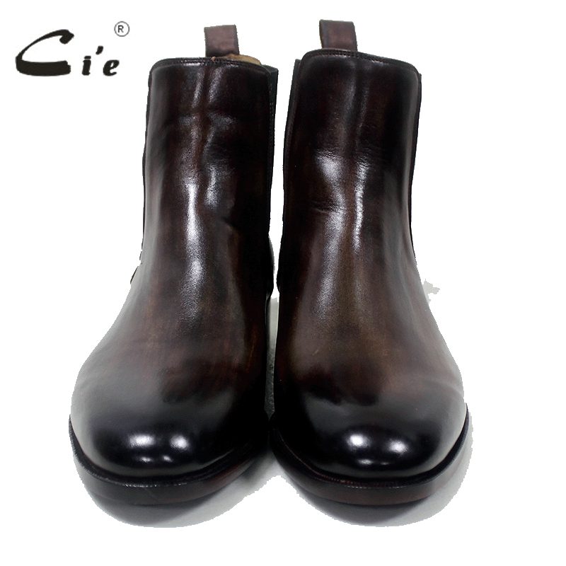 cie Chelsea-Stiefel mit runder Schuhspitze Maßgeschneiderte, - Herrenschuhe - Foto 4
