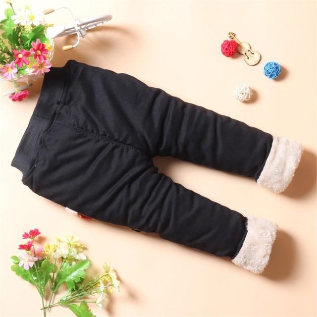 Winter Warm Baby Girls Pants