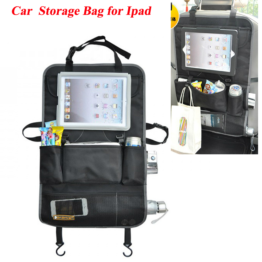 Auto Back Car Seat Organizer Holder Multi Pocket Travel Storage Hanging Bag Diaper Baby Kids Ipad In Stowing Tidying From