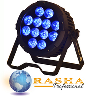 Rasha New Fanless(N0 NOISE) Rodie Hex 6IN1 RGBAW+UV color LED'S Wireless LED PAR CAN For All DJ Event lighting With IR Remote