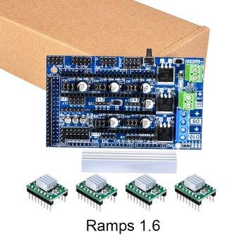 3D części Drukarki Ramps 1.6 pokładzie uaktualnić bazy na Ramps 1.4 1.5 Płyta Sterowania 4 warstwy PCB TMC2130 Drv8825 A4988 sterownik