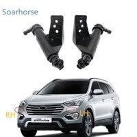 Soarhorse Car Headlamp Headlight Washer Sprayer Nozzle Water Jet Actuator For Hyundai GRAND SANTA FE 2013 2014 2015 2016