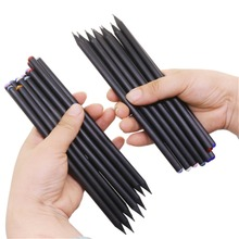 10 pcs HB Diamond Color Pencil Black Refill Stationery Supplies Drawing Supplies Cute Wooden Pencil Wholesale