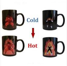 Dragon Ball Z Becher Goku Becher Heißer Farbwechsel Tassen wärme Reaktiven Tassen Super Saiyan Tassen Milch Kaffeetasse Zauberbecher