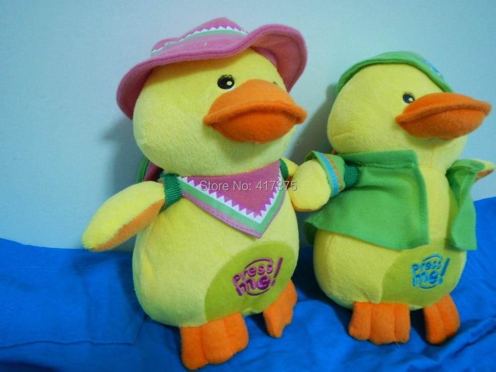 25cm Sounding yellow duck doll Imitation duck soun...