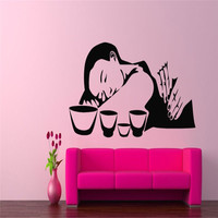 Thai Massage Wall Decal Girls Beauty Salon Vinyl Wall Stickers Spa Interior Rooms Decor Design Fashion