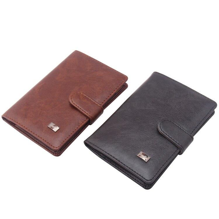 PU Travel Men Passport Holder Wallet Designer Unisex ... Designer Passport Holder