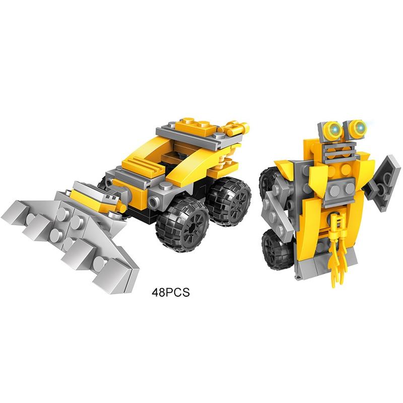 170pcs Engineering Vehicles Car Truck Model Building Blocks set Toys Bricks