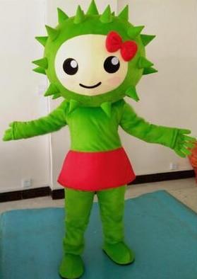 Durian Mascot Costume Fruit Cartoon Apparel Halloween Birthday Cosplay Adult Size adult mascot costume Fruit Mascot