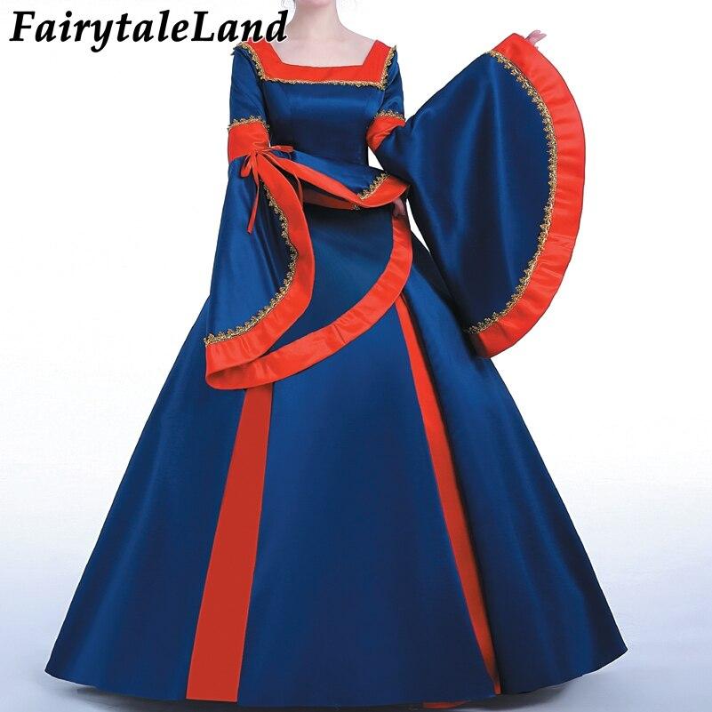 Robe Lolita mode carnaval Halloween robes de fête fantaisie robe de bal sur mesure costume de princesse costume robe à lacets