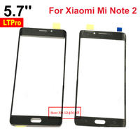 High Quality 5 7inch Black Outer Glass Screen Panel For Xiaomi Mi Note 2 Prime Lens